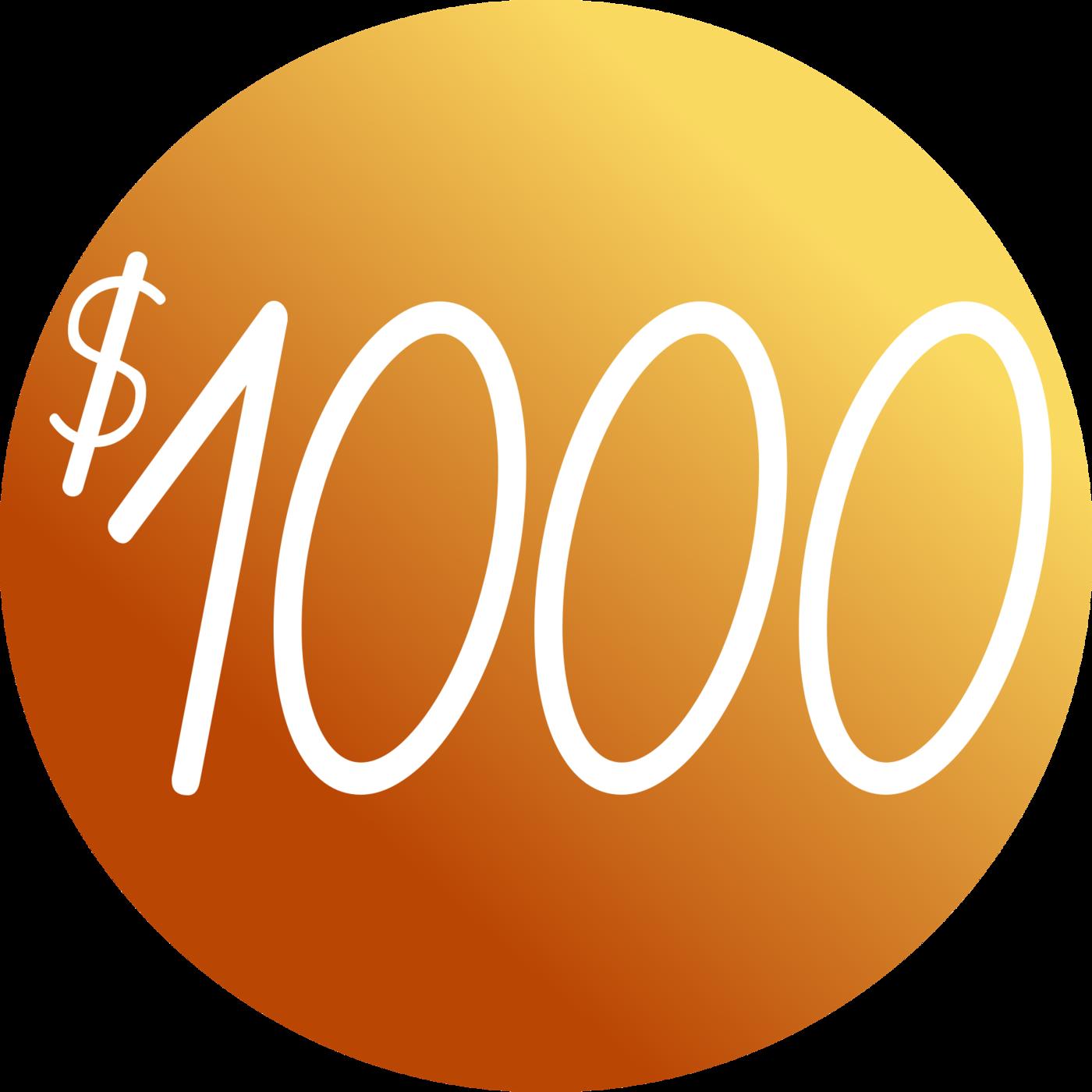 1000 coin