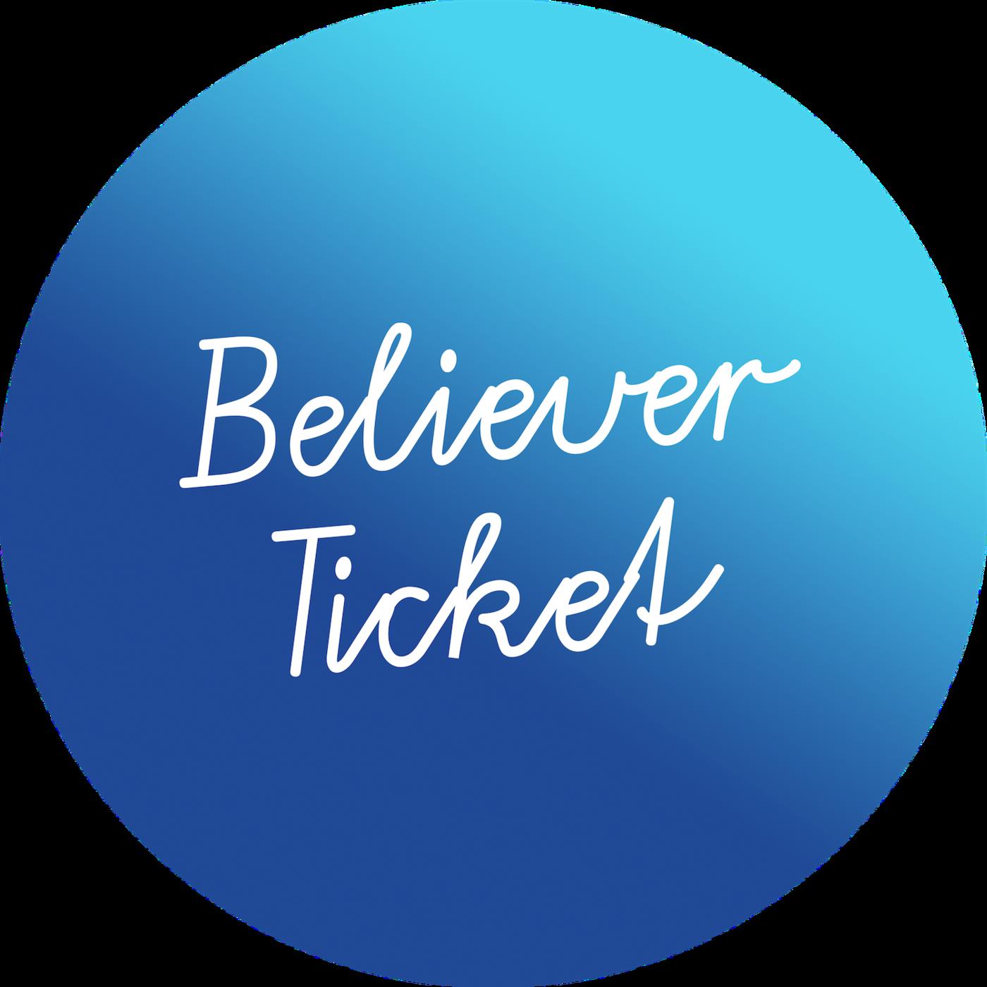 Believer ticket2 icon